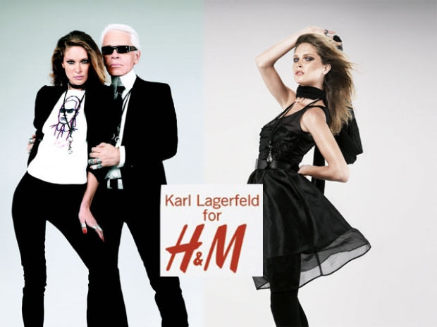 HM by Karl Lagerfeld fashion retail