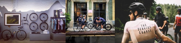 The Service Course cycling concept store Girona Sport retail