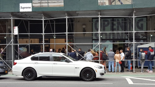 Supreme NYC Store Soho Fashion Retail
