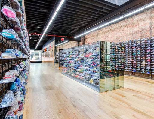 Flight Club retail store NYC