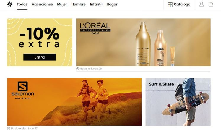 Campaña Privalia marketplace - The Fashion Retailer
