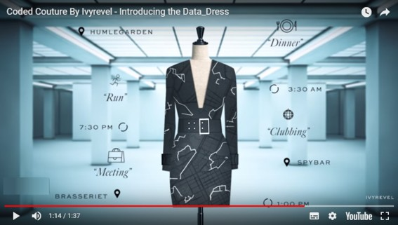Coded Couture Ivyrevel Google HM Internet of Things - Fashion Retail