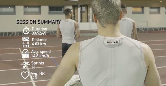 Polar Team Pro Shirt AI Wearable Sportswear - Fashion Retail