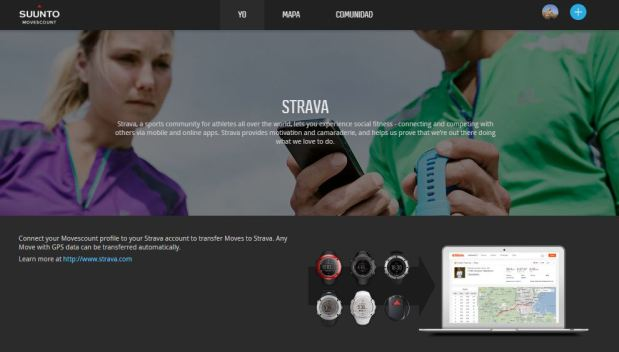Strava and Suunto Movescount app Internet of Things Sports wearables - The Fashion Retailer