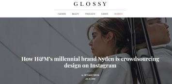 How H&M millenial brand Nyden is crowdsourcing design on instagram_Glossy_Fashion Retail industry