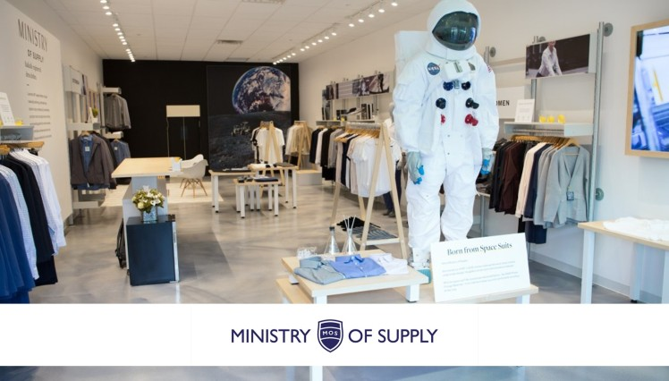 Ministry Of Supply Fasthech brand fashion technology