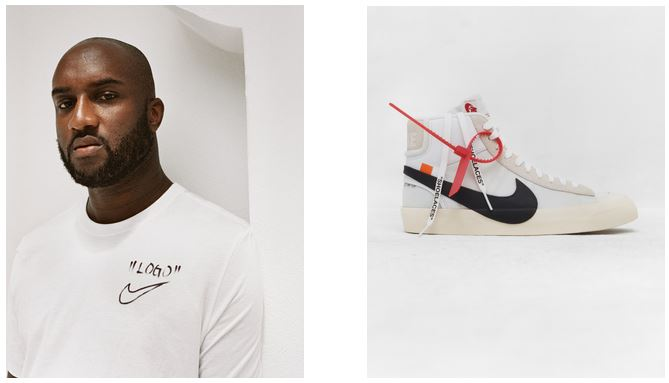 Virgil Oblah Nike Collaboration Fashion capsules