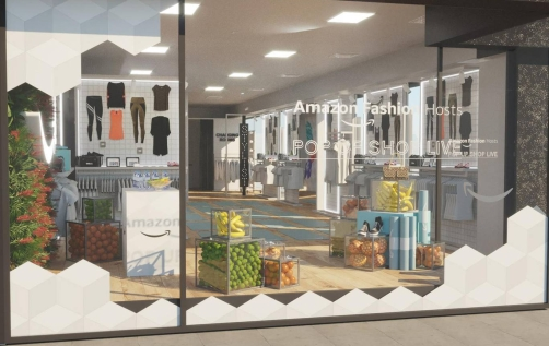 Amazon Fashion Store in London