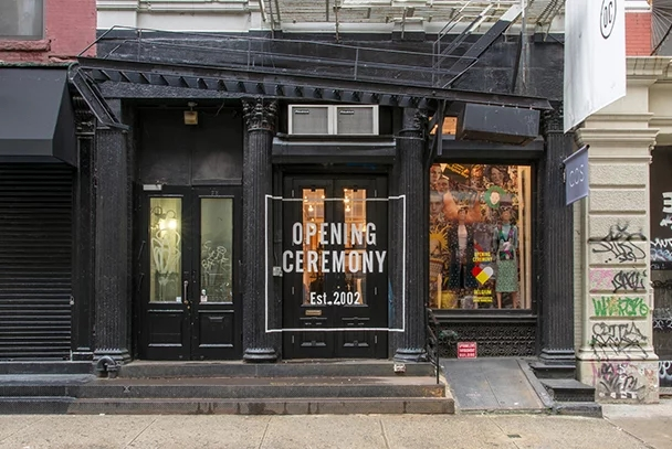 Opening Ceremony Store NYC customer experience fashion retail