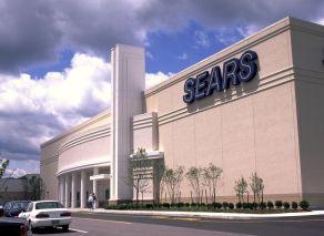 Sears modern retail store