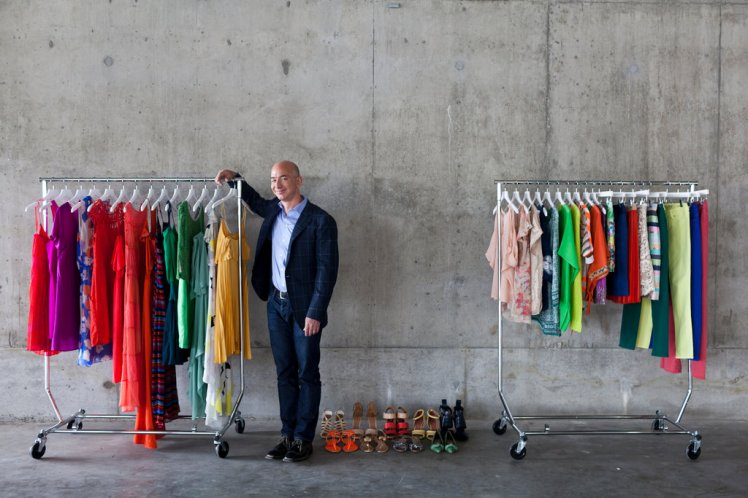 Amazon Fashion Jeff Bezos