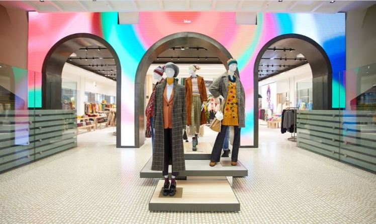 New concept fashion retail store of Benetton