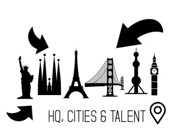 Headquarters cities talent location
