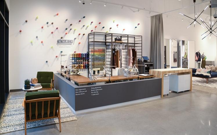 Tailor corner Nordstrom Local customer experience customization new retail