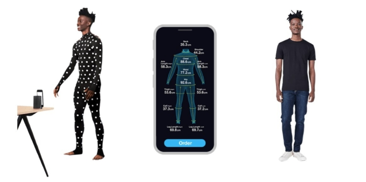 Zozo suit custom-fit unique sizing 3D IoT fashion retail