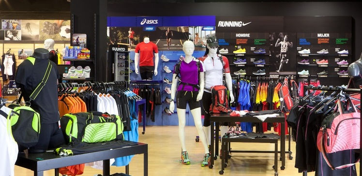 Decathlon City small format stores optimized assortment apparel