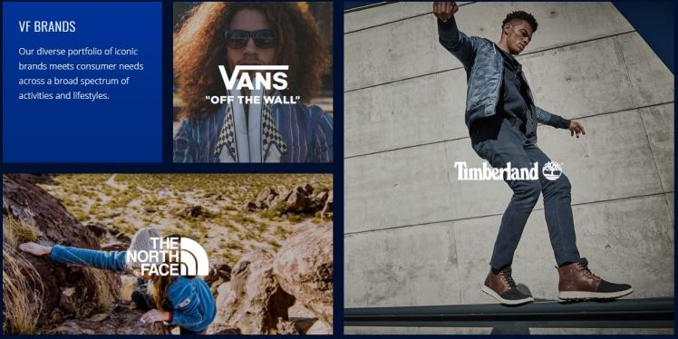 VF Brands American conglomerate outdoor brands