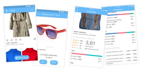 Wemuse fashion retail app product performance