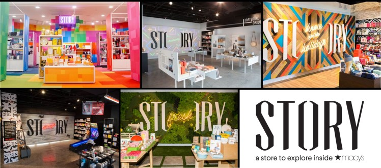 Story concept store macy´s customer experience collaborations retail