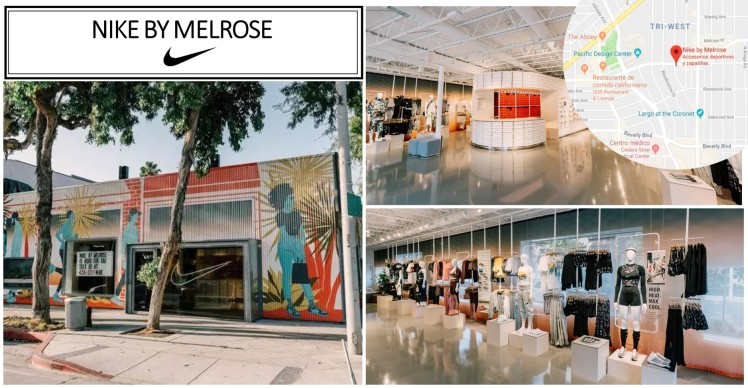 Nike by Melrose new curated store community convenience customer experience in retail