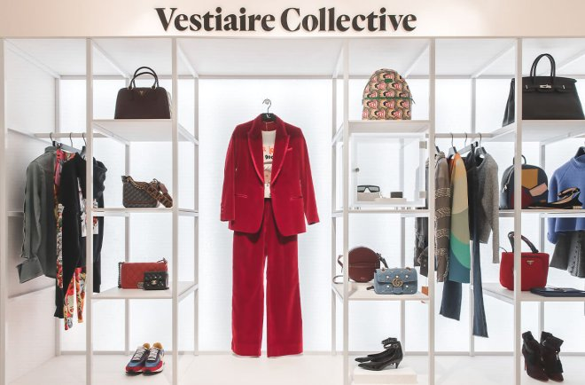 Vestiaire Collective permanent store at Selfridges London