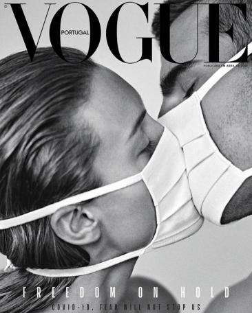 Vogue Portugal Coronavirus and Fashion